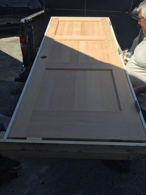 """3 panel interior door just door but can put in frame - 28"""" x 80"""" Douglas fir for Sale in Los Angeles, CA"""