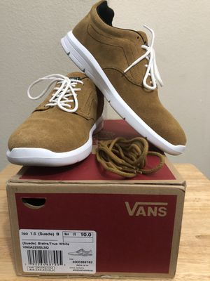 Vans Iso - Size 10 (Suede) for Sale in College Station, TX
