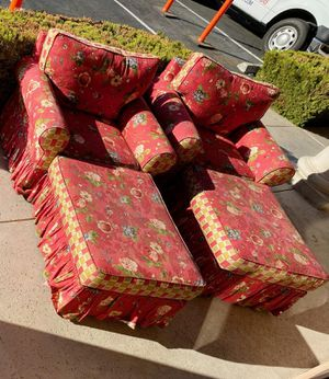 TWIN SOFAS FOR YOUR GARDEN for Sale in Las Vegas, NV