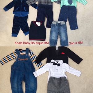 3M-2T Baby Boy's Clothes(new and like new condition) for Sale in San Mateo, CA