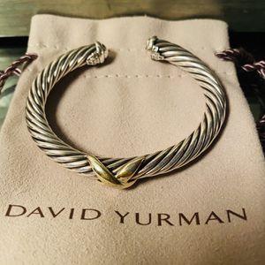 David Yurman Crossover Bracelet 14K Gold 100% Authentic for Sale in Miami, FL