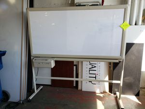 Electric Rolling Whiteboard - Used - $299 for Sale in Portland, OR