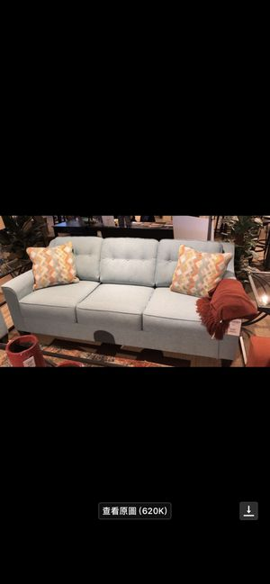 Ashley Sofa with whole spray protector for Sale in Anchorage, AK