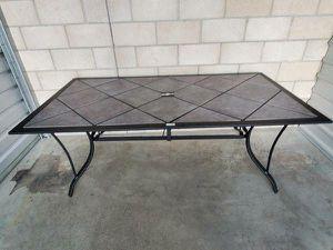 BOGO New Hampton Rectangular Tile Top Table by HD Design (Grey/Pewter) for Sale in Las Vegas, NV