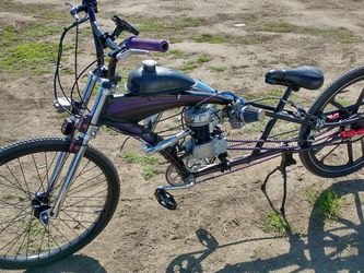 Micargi Stretched Motorized Bicycle High Performance 80cc 2-stroke Very Fast for Sale in Fresno,  CA