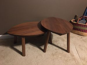 Nesting coffee tables for Sale in Durham, NC