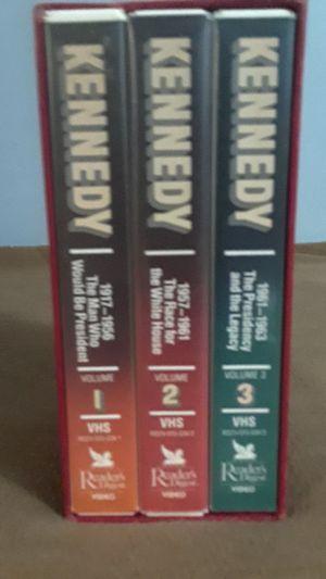 Readers digest 3 volume VHS Set of JFK for Sale in Nashville, TN