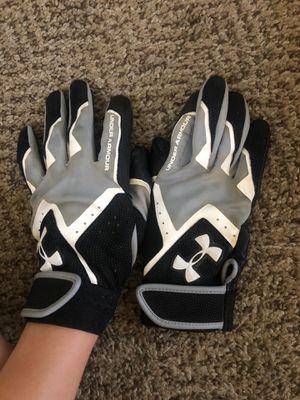 Under armor softball batting gloves (youth medium) for Sale in Chula Vista, CA