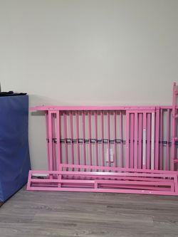 Pink Bunk Bed Set Almost Brand New for Sale in Clearwater,  FL