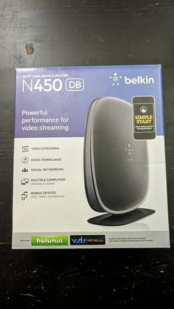 Belkin N450 wifi dual band Router for Sale in Vancouver,  WA