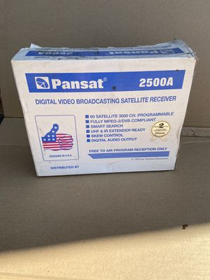 New PANSAT 2500A SATELLITE RECEIVER. for Sale in Whittier, CA