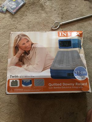 Twin air mattress for Sale in Warsaw, IN