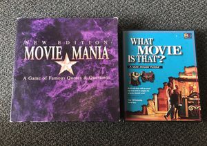 Movie Buffs/Cinephiles Game Set: Puzzle & Board Game for Sale in San Francisco, CA