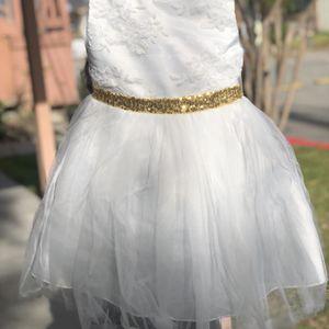 Girls White Dress for Sale in Mentone, CA