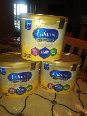 Enfamil 20.7 oz. $15 each for Sale in Denver, CO