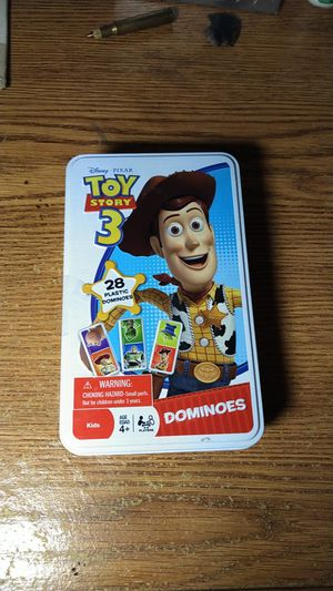 Collectable toy story 3 dominos set. All 28 pieces are there(complete set) in very good condition. for Sale in Plant City, FL