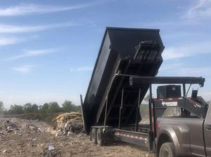 Texas pride Gooseneck Roll of dump Trailer for Sale in San Antonio, TX