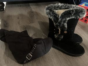 Like new girls size 3 boots for Sale in Westminster, CO