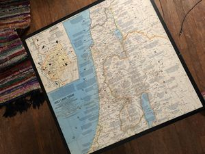 Unique Map Coffee Table for Sale in Columbus, OH