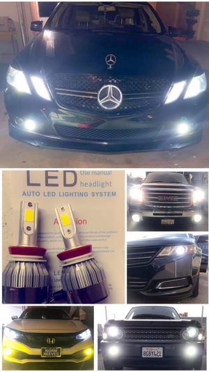 BRIGHTEST led headlights or fog lights starting at $25 for Sale in Los Angeles, CA