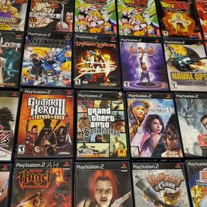 Playstation 2 games ( Starting at $10) for Sale in North Las Vegas, NV
