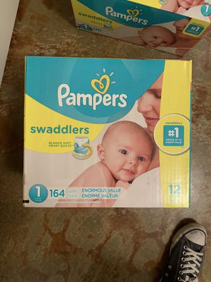 Size 1 diapers for sale asking $100 for all or best offer for Sale in Bakersfield, CA
