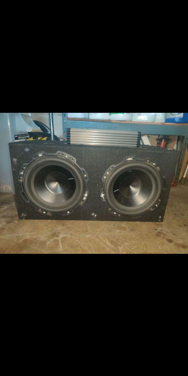 Rockford Fosgate p3d2 10's & hi-fonics brutus elite 1200w