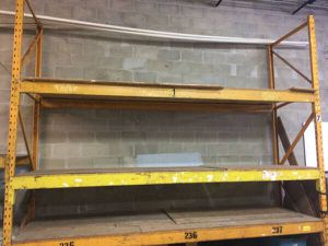 Metal warehouse shelving for Sale in Clearwater, FL