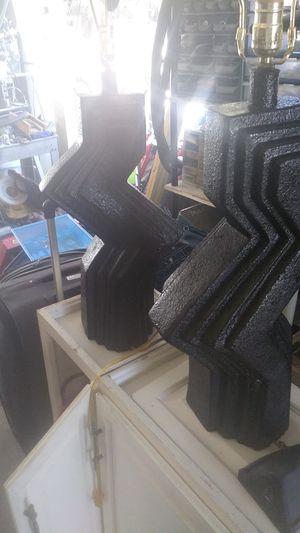 Black lamp 2 set for Sale in Glendale, AZ