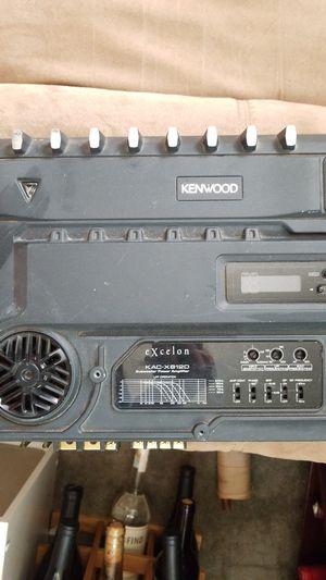 Kenwood excelon subwoofer amplifier for Sale in Los Angeles, CA