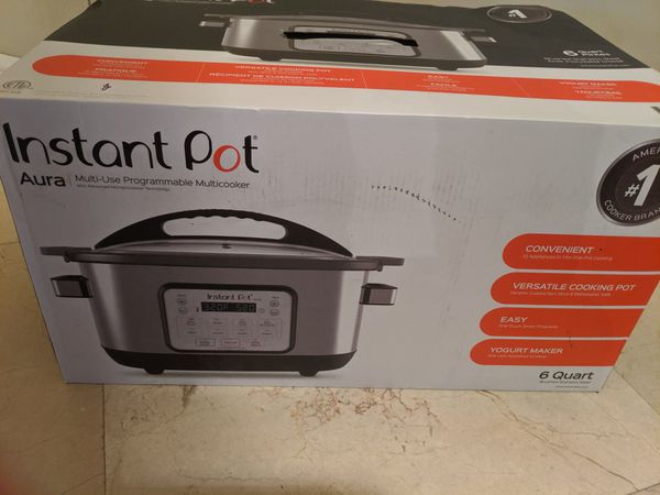 New Instant Pot 6 quart multi-use programmable cooker
