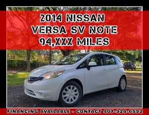 2014 NISSAN VERSA SV NOTE for Sale in Orlando, FL