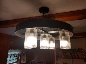 Mason jar chandelier for Sale in Kittanning, PA