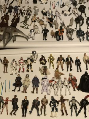 Star Wars action figures over 100 figures vintage for Sale in Baltimore, MD