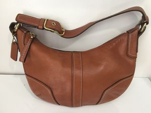 USED ORIGINAL COACH F0793-11372 Caramel Brown Leather for Sale in Miami, FL