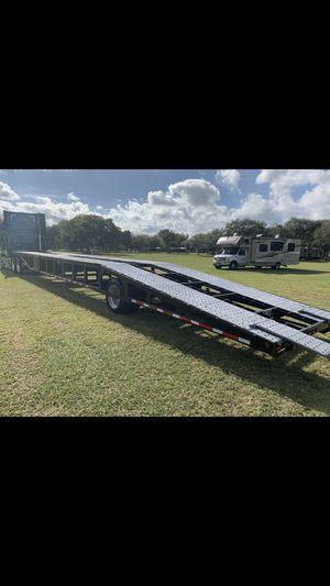 06 Sun Country Car hauler flatbed trailer car carrier for Sale in Homestead, FL