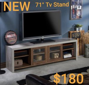 "Industrial 71"" TV Stand in Walnut for Sale in West Covina, CA"
