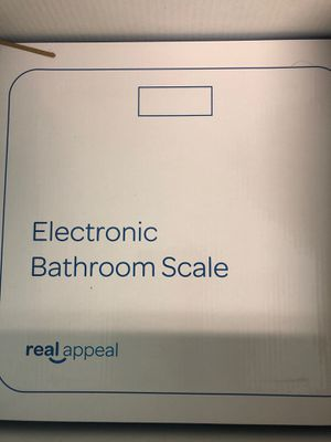 Real Appeal Electronic Bathroom Scale for Sale in San Diego, CA