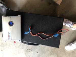 "Nemesis 12"" 1000watt with pro box and 3000 watt planet audio amp for Sale in Plano, TX"