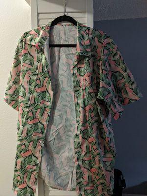 Retro 80s male button-up size XL Halloween 🎃 for Sale in Miami, FL
