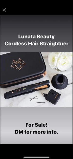 Lunata Beauty Cordless Hair Straightener for Sale in Orlando, FL