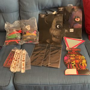 Five Nights At Freddy's Party Supplies for Sale in Saratoga, CA