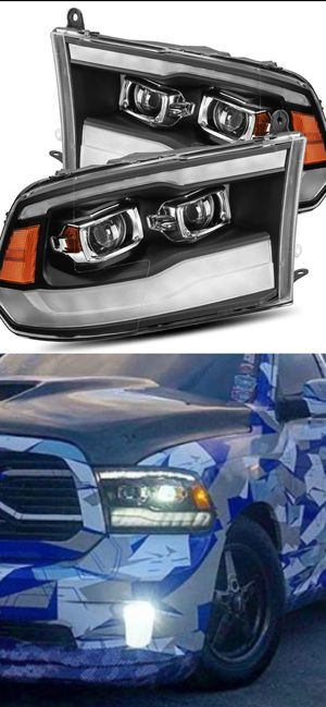 09-18 dodge ram dual projector headlights for Sale in Los Angeles, CA