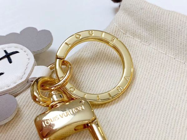 Louis Vuitton key holder bag charm kaws