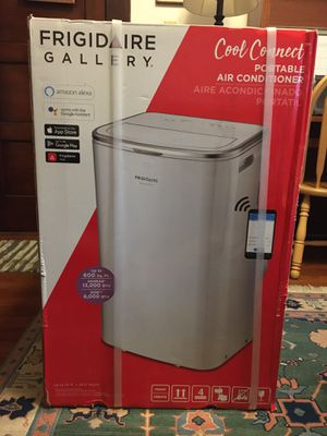 FRIGIDAIRE GALLERY 13,000 BTU Portable Air Conditioner Remote Control and with Wi-Fi Control for Sale in San Diego, CA