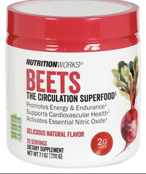 Nutrition works Beet Powder New for Sale in South Bend, IN