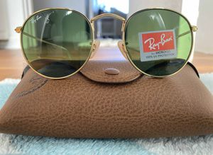 Brand New Authentic RayBan Round Sunglasses for Sale in Laguna Woods, CA