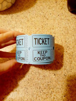 Raffle ticket's for Sale in Comstock Park, MI