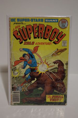 Super boy the final test #12 issue for Sale in Portland, OR