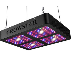 Growstar 1200W COB LED Grow Light, UV & IR Full Spectrum 3000K CREE COBs 10W Double Chips for Hydroponic Greenhouse Indoor Plant Veg and Flower for Sale in Fair Oaks Ranch, TX
